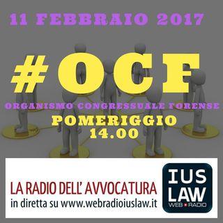 #OCF, 11 febbraio 2017 sessione pomeridiana