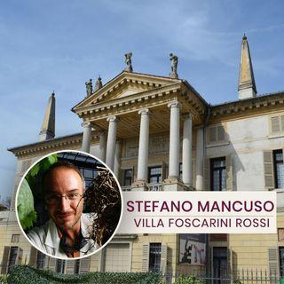 Stefano Mancuso in Villa Foscarini Rossi