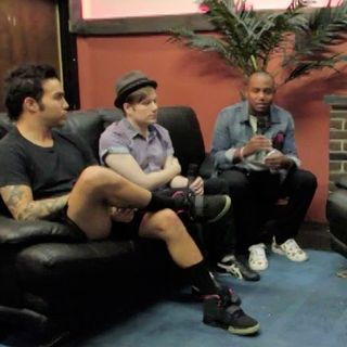 Fall Out Boy In Studio!