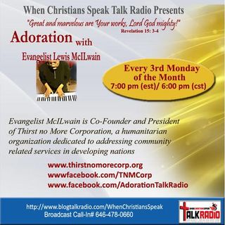 """""""LET'S TALK ABOUT LOVE"""" on ADORATION with EVANGELIST MAC"""