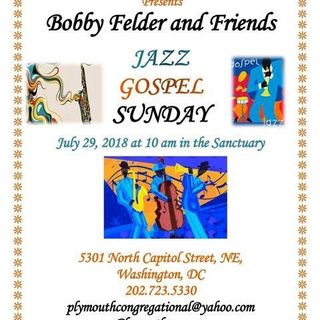 10am-Bobby Felder & Friends-Jazz and Justice
