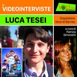 LUCA TESI su VOCI.fm - clicca PLAY e ascolta l'intervista