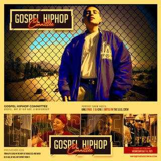 Gospel Hip Hop Committee Episode #2 - Holy Loc Online Celebration of Life Memorial Service Part 1