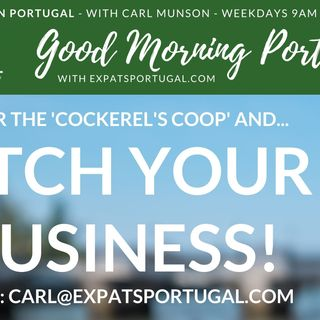 Meet our businesses (and pitch yours!) on the Good Morning Portugal! show