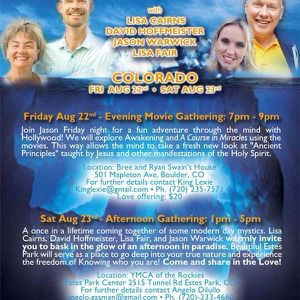 Estes Park, Colorado Gathering / Satsang