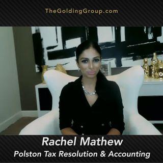 Special Guest: Rachel Mathew, Co-owner Polston Tax – Bonus Ep