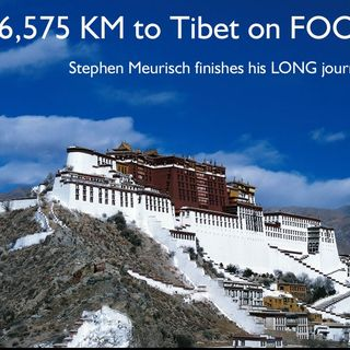 6,500 KM to TIBET on Foot.