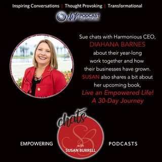 Susan chats with Harmonious CEO, Diahana Barnes