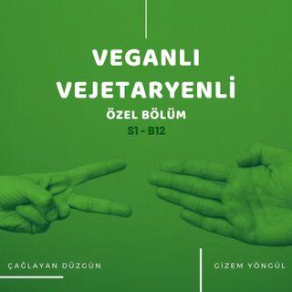 Veganlı Vejetaryenli