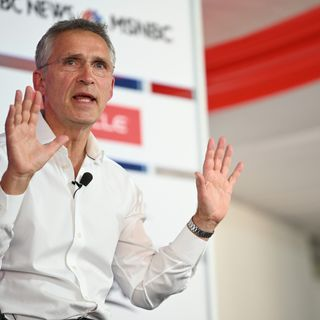NATO Chief on Cyberspace, Trump, and Threats From Abroad