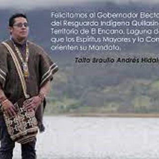 Andres Hidalgo - Gobernador Indígena.