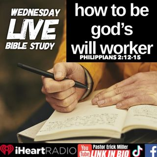 Ep 224 You are God's will Worker:  Philippians 2:12-15
