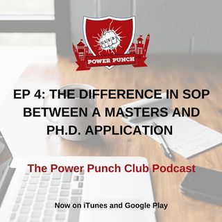 The Difference in SOP between a Masters and Ph.D. application