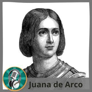 Saúl Sánchez con Juana de Arco