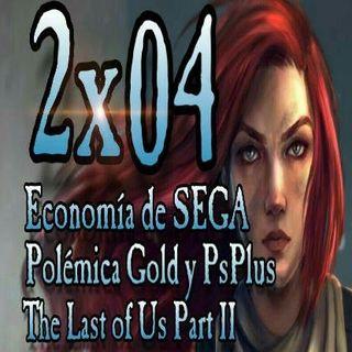 Legión Gamer España 2x04 - La economía de SEGA, Gold y PsPlus ¿Nos timan? Detalles de The Last of Us Part II