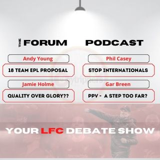 18 Team Premier League? | The Forum