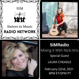 Singer/Songwriter Laura Cheadle on Mixing It with Nicki Kris on SIMRadio