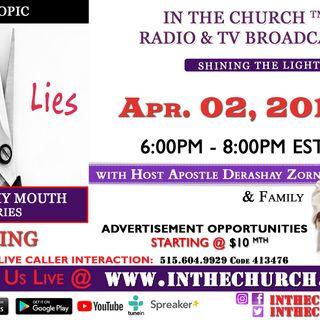 """Lying """"In The Church"""""""