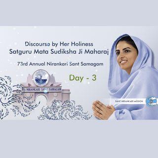 Third day, 73rd Annual Nirankari Sant Samagam (Virtual): December 7, 2020 -Discourse by Satguru Mata Ji