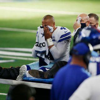 Cowboys VP Stephen Jones- Dak Prescott is 'our future' despite season-ending inj