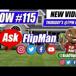 How to Wholesale Real Estate With No Money - Ask Flip Man You Live Show 115 [Flippinar]