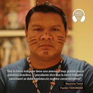 Entrevista a Mauricio Tomé del Pueblo Indígena Yanomami de Brasil