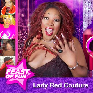 Lady Red Couture is the World's Biggest Drag Queen