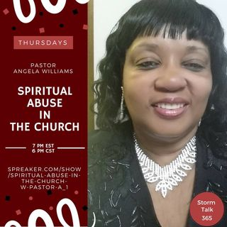 Spiritual Abuse In The Church w/ Pastor Angie -Who Do You Depend On, Man Or God?