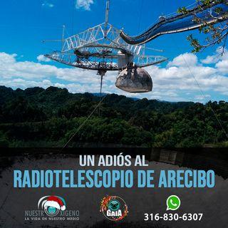 NUESTRO OXÍGENO Un adiós al radiotelescopio de Arecibo - Prof. Alberto Quijano Vodniza