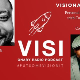 Visionary View  Personal Awakening. A Converstation With Coach J