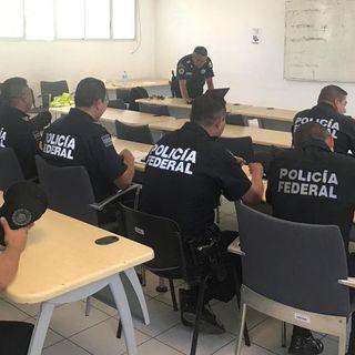 Policías federales marcharán a Palacio Nacional