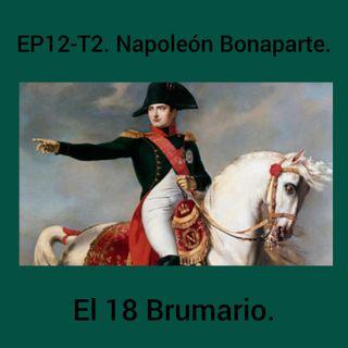 12- Napoleón Bonaparte. El 18 Brumario.