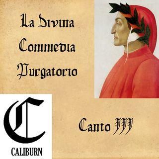 Purgatorio - canto III - Lettura e commento