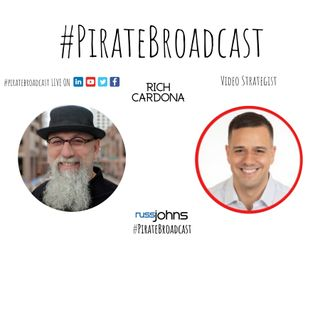 Catch Rich Cardona on the PirateBroadcast