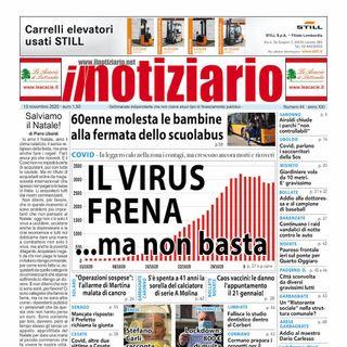 Prima pagina - Il Notiziario venerdì 13 novembre 2020