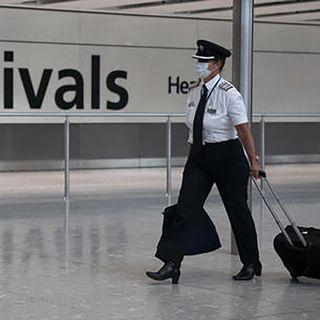 Scatta la quarantena per chi arriva in Gran Bretagna