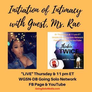 Initiation of Intimacy