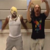 Maxwell Gets Caked By Steve Aoki!