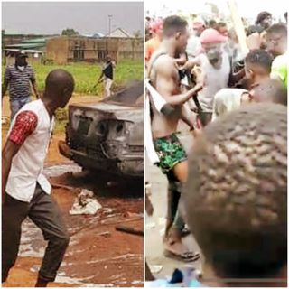 Hoodlums Hijacked #EndSARS Protest To Attack The Benin Correctional Centre And Free Prisoners.
