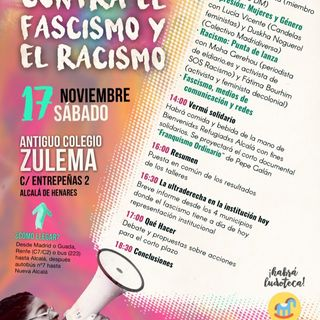 Jornadas Antiracistas y Antifascistas de Alcalá de H