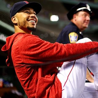Mookie Betts Limited in Return to Red Sox