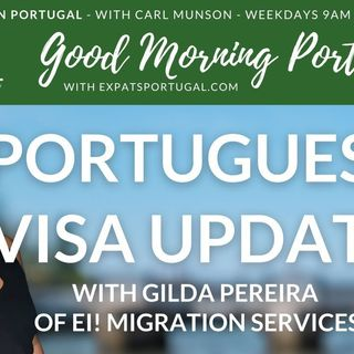 Portuguese visa & migration update with Gilda | Good Morning Portugal!