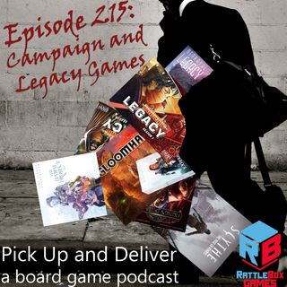 Campaign and Legacy Games