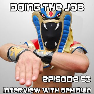 Episode 053 - Interview with Ophidian the Cobra