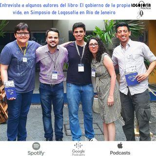 Entrevista a algunos autores del libro: el gobierno de la propia vida, en Simposio de Logosofía en Río de Janeiro