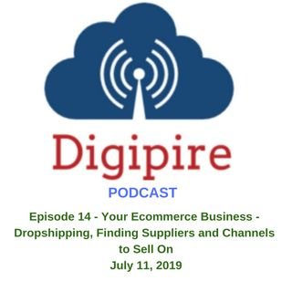 Episode 14 - Your Ecommerce Business - Dropshipping, Finding Suppliers and Channels to Sell