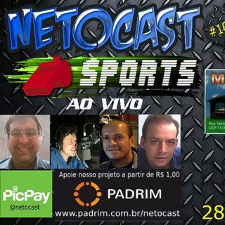 NETOCAST 1093 DE 28/11/2018 - ESPORTES