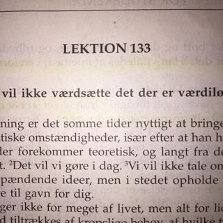 Lektion 133