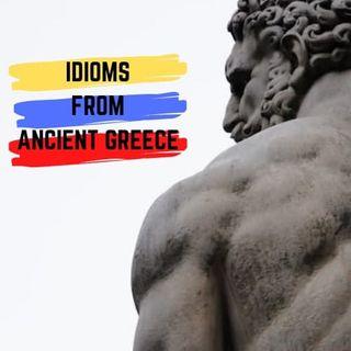 M01: Idioms form ancient Greece