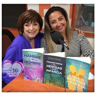 """Es día de trabajar con la psicoterapeuta Anamar Orihuela hablando de: """"El coraje de sanar"""" 2/05/19"""